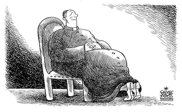 katholische Karikaturen ewtn