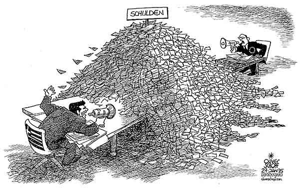 Schulden Griechenlands