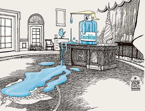 Trump Desinfektion